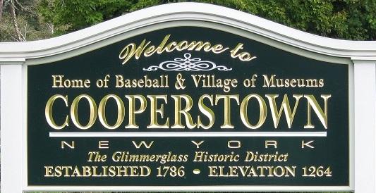 Destination Spotlight 11: Cooperstown NY - RMWorldTravel with Robert & Mary  Carey and Rudy Maxa